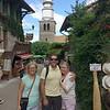 Linda, Kevin & Julie, Yvoire
