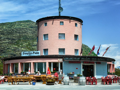 Kemmerer___The hotel-restaurant at the top of Simplon Pass in Switzerland