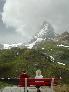 Kemmerer___The Matterhorn in the clouds