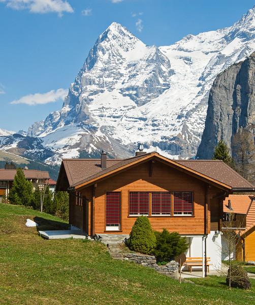 Modern Swiss chalet