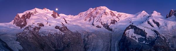 Monte Rosa - Lyskamm - Castor & Pollux