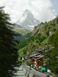 Kemmerer___The Matterhorn seen from Zermatt