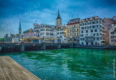 Zurich on the Limatt