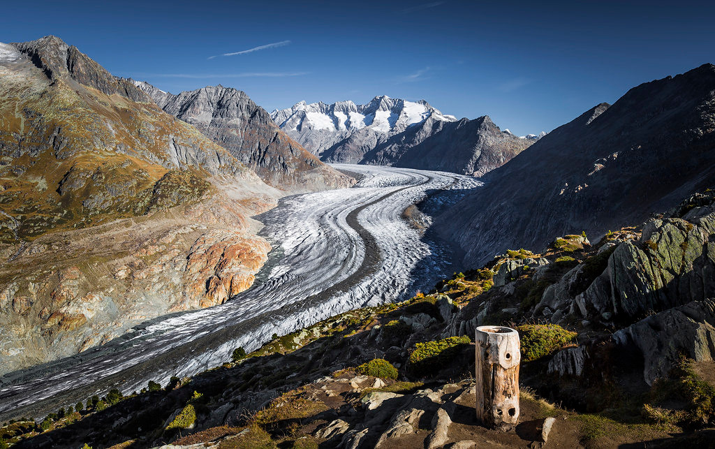 Great Aletsch Glacier, Autumn 2