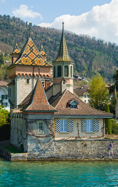On Lake Thun, Switzerland
