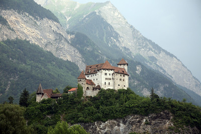 Gutenberg Castle.  Balzers, Liechtenstein.