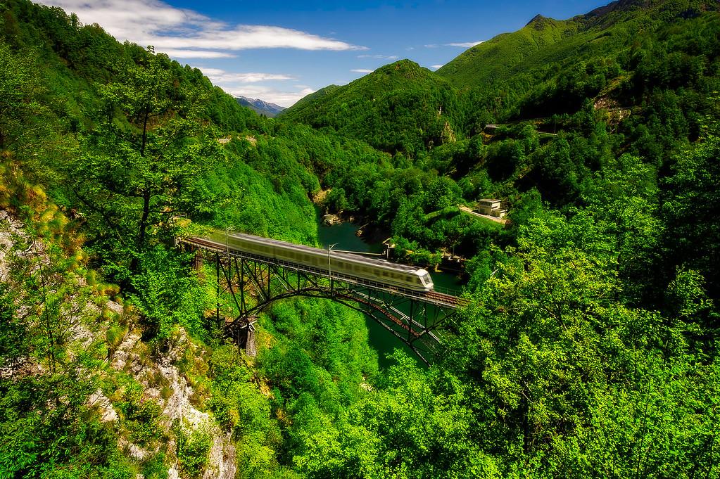 Centovalli Railway; Centovalli; Tessin; Switzerland