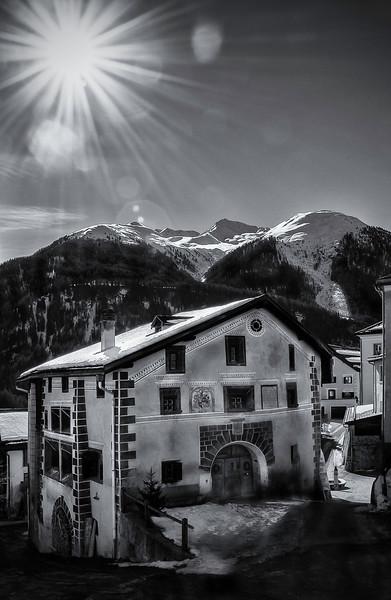 Guarda; Graubünden; Switzerland