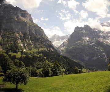 Eiger Cirque. Grindelwald, Switzerland.