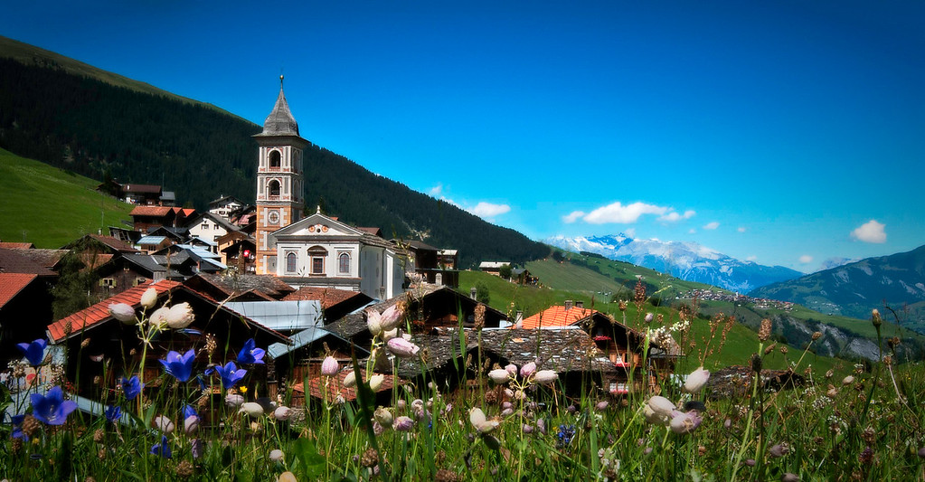 Vrin; Graubünden; Switzerland