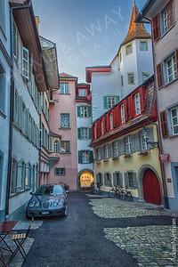 Pastel Alleyway