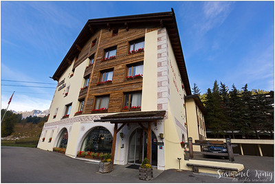 @ Hotel Nolda, along the Inn river, St. Moritz (Sankt Moritz), Switzerland. (09/17)
