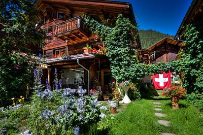Chalet in Murren Switzerland