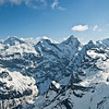 Rugged Alpine peaks