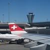Swiss Air at San Francisco