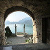 Another view of Lake Lugano from the church on the cliff in Morcote.