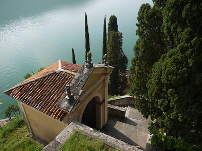Lugano and Morcote on Lake Lugano