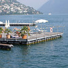 Sorry -- the legs to the far left belong to a topless sunbather, right off the main promenade in Lugano  but I didn't get a photo.
