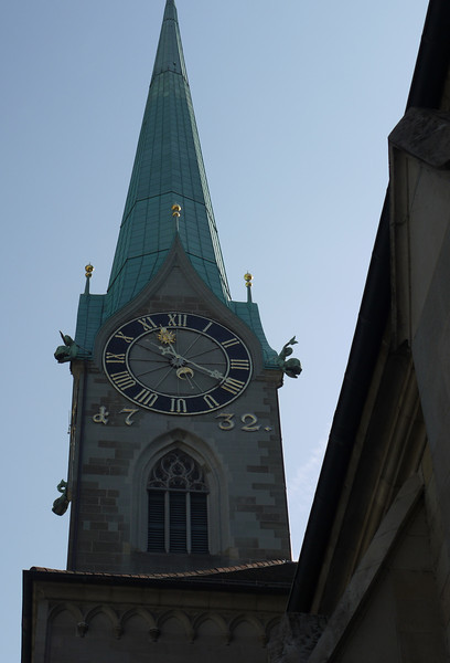 One of many gorgeous clocks in steeples.
