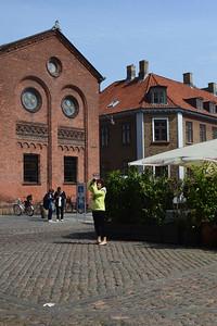 Terry Recording the City of Copenhagen