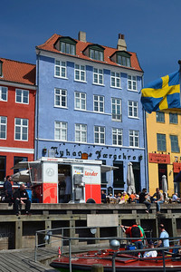 Blue House at Nyhavn