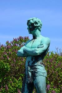 Svommeren Statue