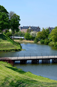 Bridge by Gefion at Kastellet