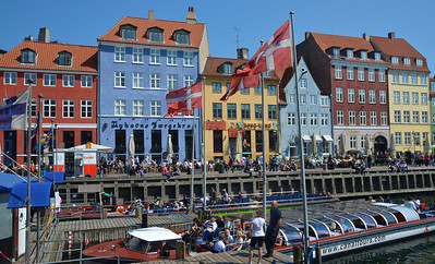 Nyhavn at Copenhagen