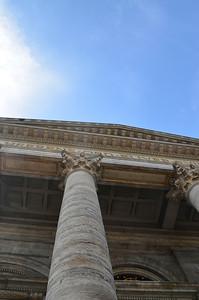 Marble Church Pillar