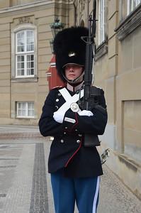 Keeping Watch at the Royal Palace