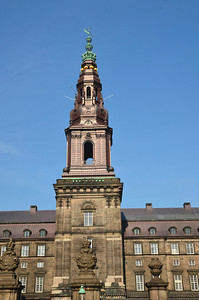 Danish Parliament Steeple