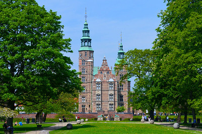 Rosenborg Castle Front
