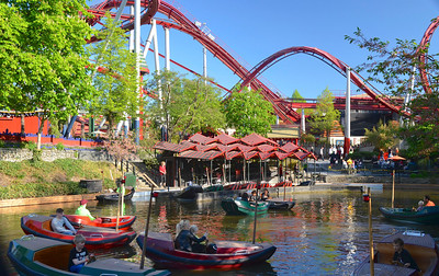 Bumper Boats at Tivoli