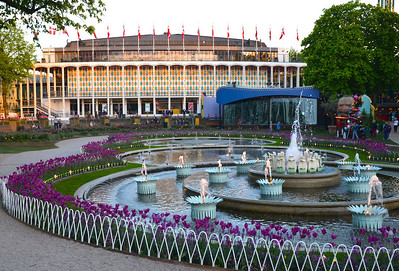 Tivoli Concert Hall and Water Garden