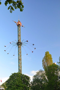 The Star Flyer Ride at Tivoli