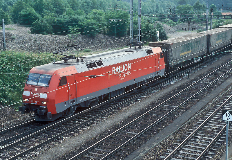 DB 152-113 Muttenz 22 May 2007