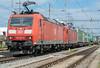 DB 185-103 + 185-128 Pratteln 4 August 2017