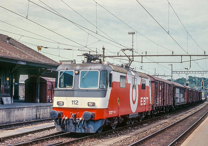 EBT 112 Burgdorf 15 June 1997