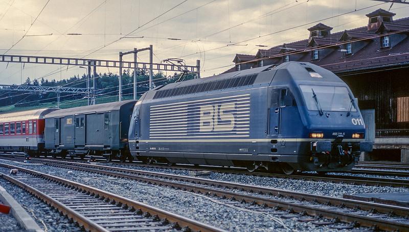 BLS 465-011 Spiez 13 June 1997