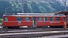 RhB Berninabahn ABe4/4 47 is at St. Moritz on 4 July 1988 with the afternoon train to Tirano