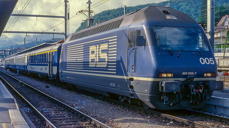 BLS 465-005 Spiez 15 June 1997