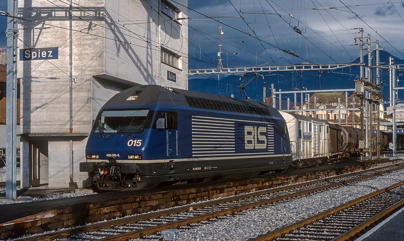 BLS 465-015 Spiez 13 June 1997