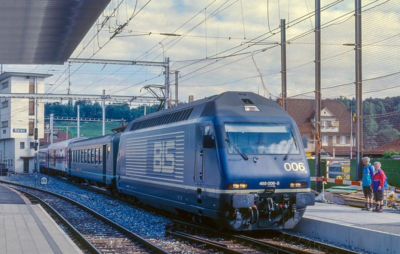 BLS 465-006 Spiez 15 June 1997