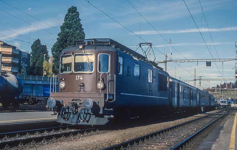 BLS 174 Speiz 4 November 1993