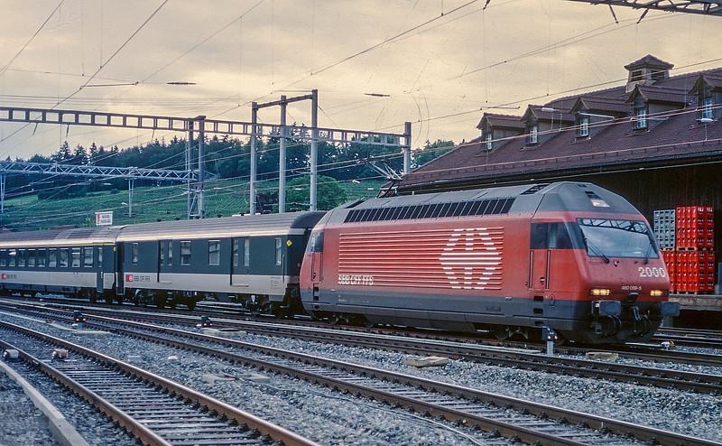 SBB 460-099  Spiez 13 June 1997