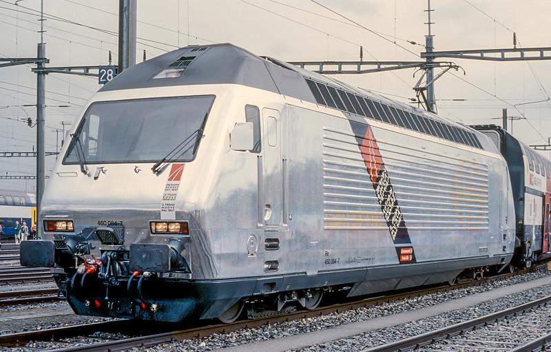 SBB 460-084  Lausanne Triage 14 June 1997
