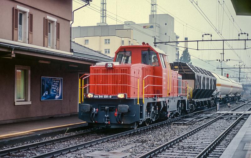 SBB 841-031 Pratteln 16 June 1997