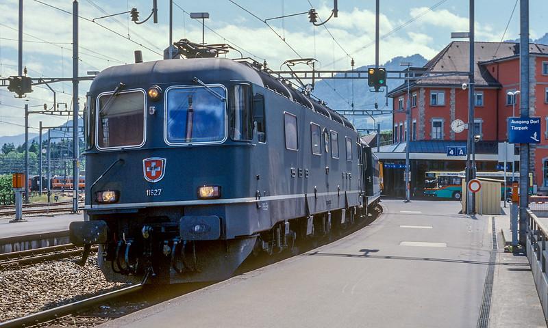 SBB 11627  Arth Goldau 15 June 1997