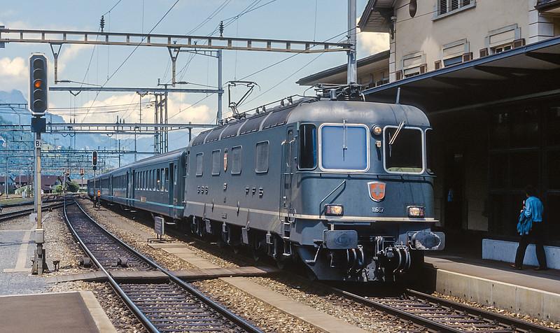 SBB 11667 Erstfeld 15 June 1997