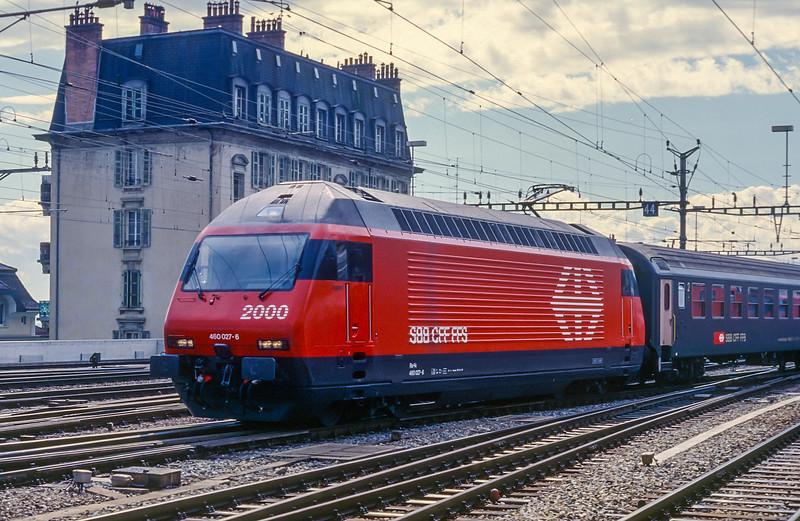 SBB 460-027 Lausanne 14 June 1997